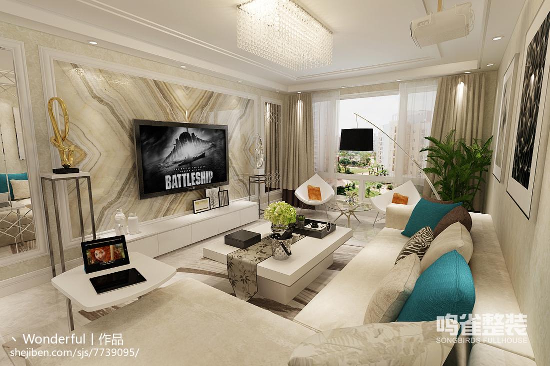 精美公寓现代装修设计效果图片