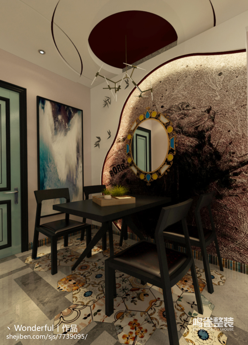田园风格设计家居卫生间装饰效果图片