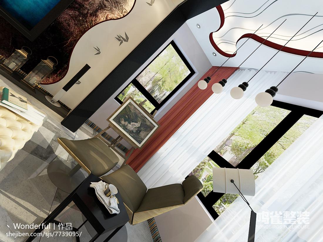 田园风格设计室内厨房装饰效果图片