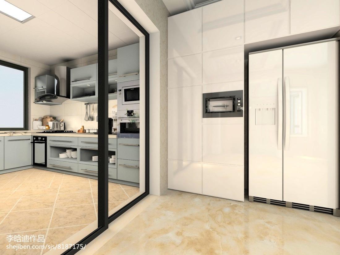 最热欧式别墅厨房装修图片大全