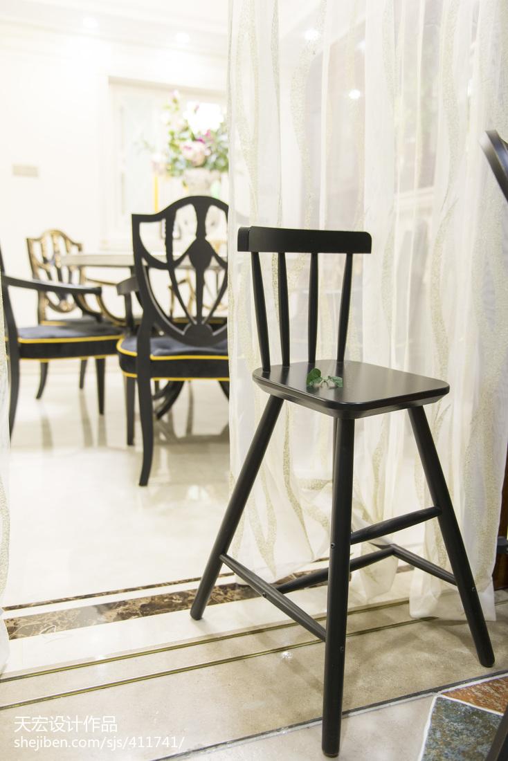 现代黑柳木厨房设计