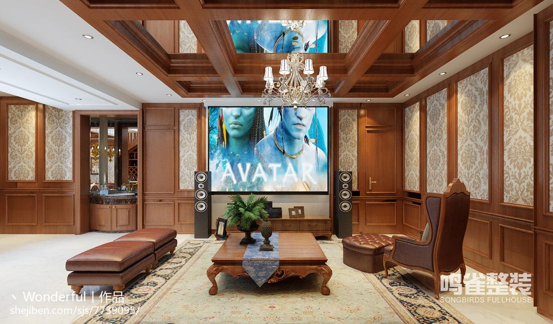 美式乡村风格卧室家居装饰