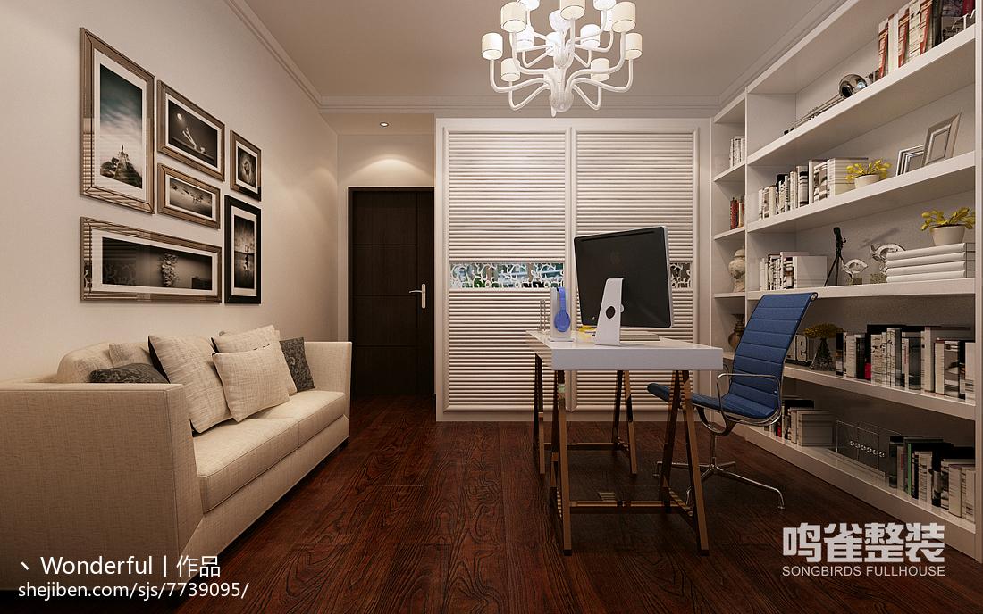 精美混搭美式欣赏客厅