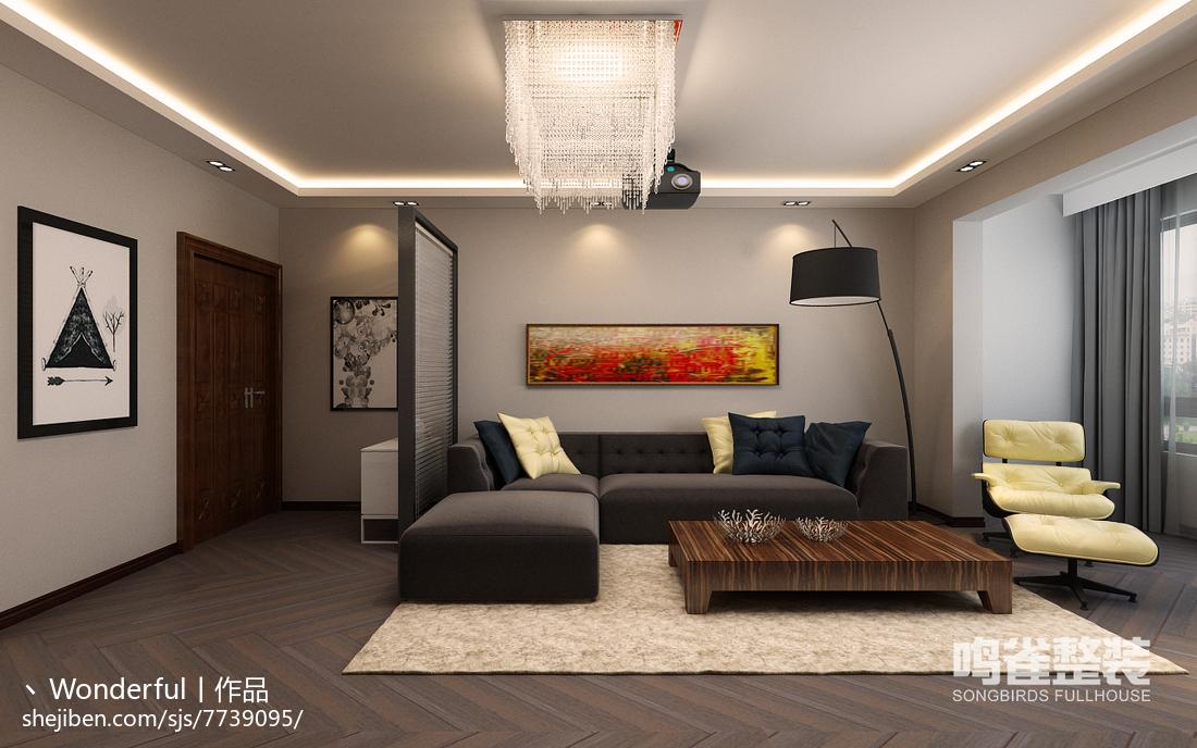 时尚复古美式客厅