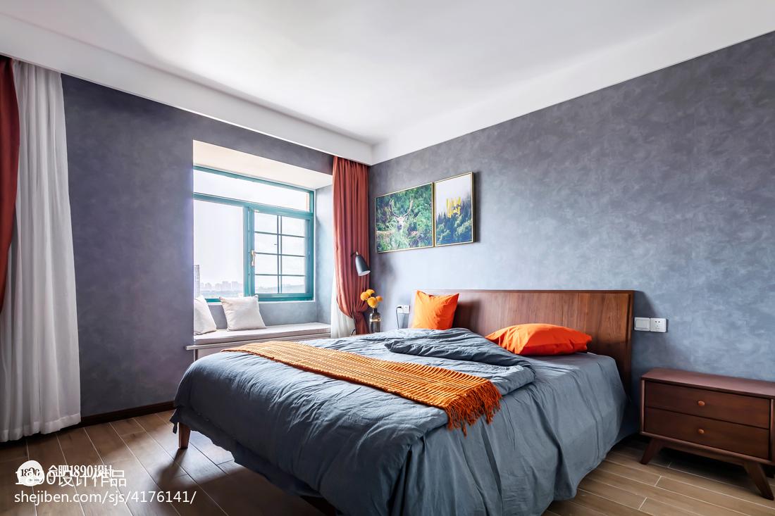 热门三居卧室北欧设计效果图