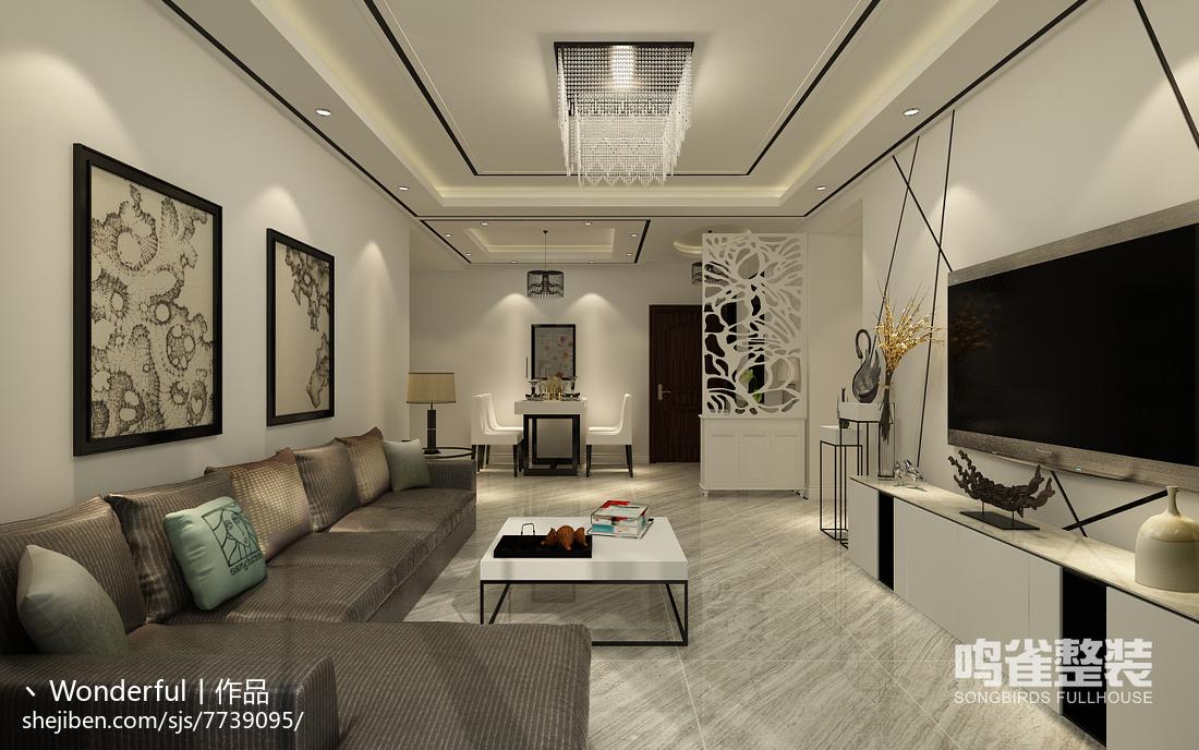儒雅新中式卧室案例