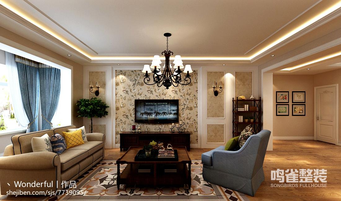 与众不同现代整体客厅设计