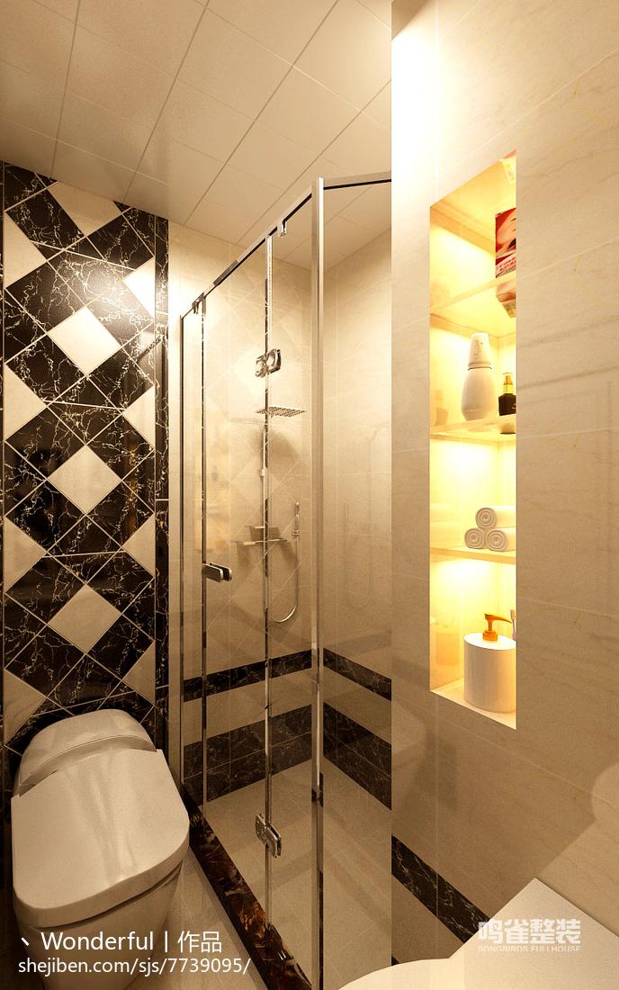 欧式典雅设计客厅效果图