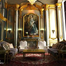 热门131平方欧式别墅客厅装修欣赏图