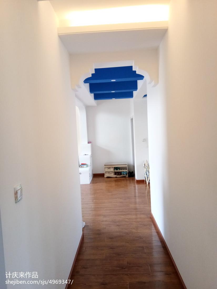 现代美式设计家装客厅效果图