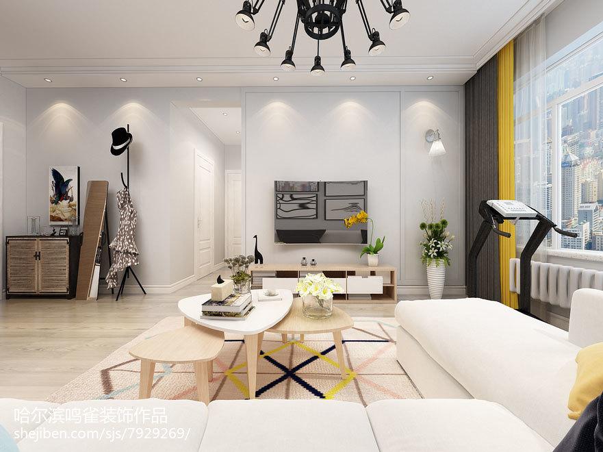 地中海田园风格设计卧室吊顶效果图