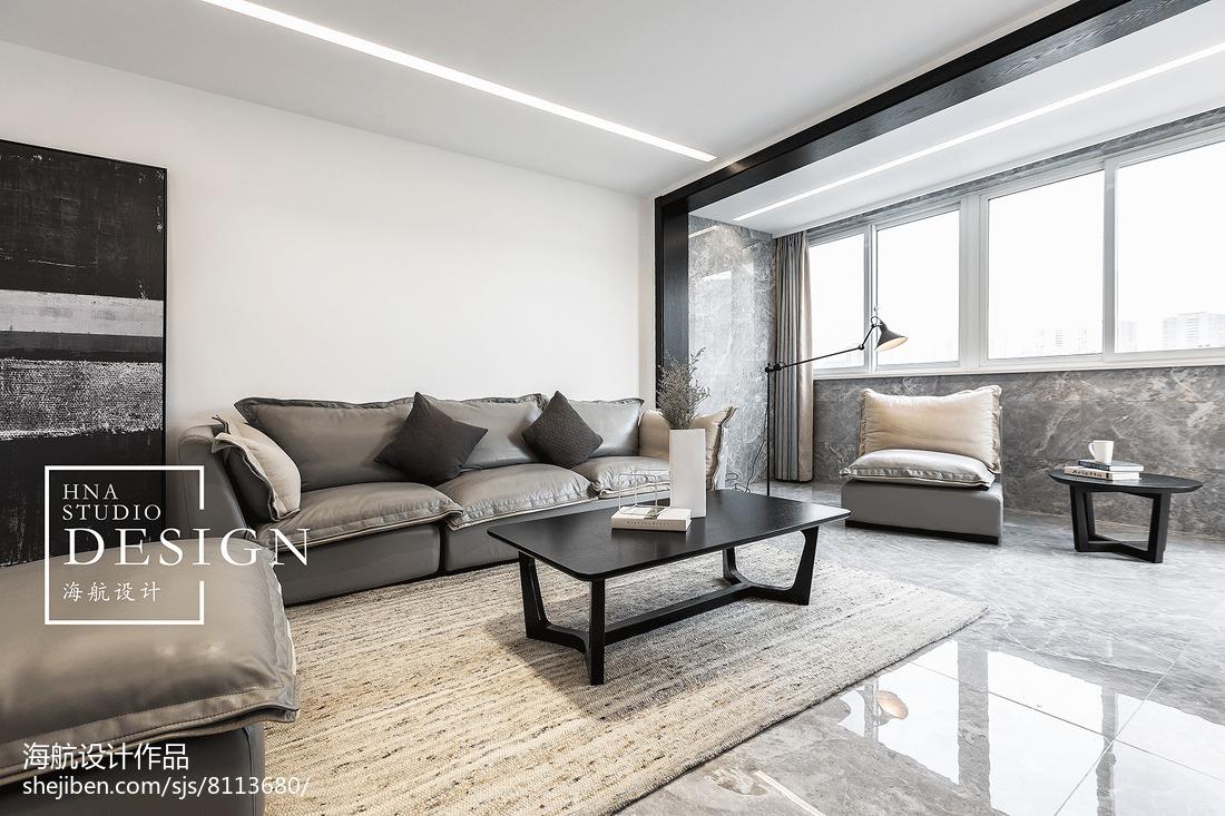 141平米现代别墅客厅装修效果图片欣赏