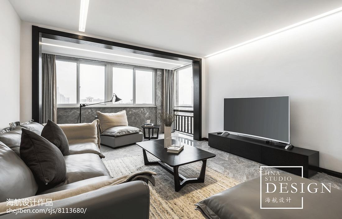 精美现代别墅客厅装修设计效果图片大全