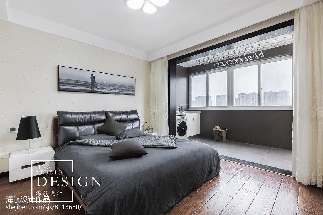 精美141平米现代别墅卧室装饰图片欣赏