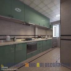热门三居厨房现代欣赏图片
