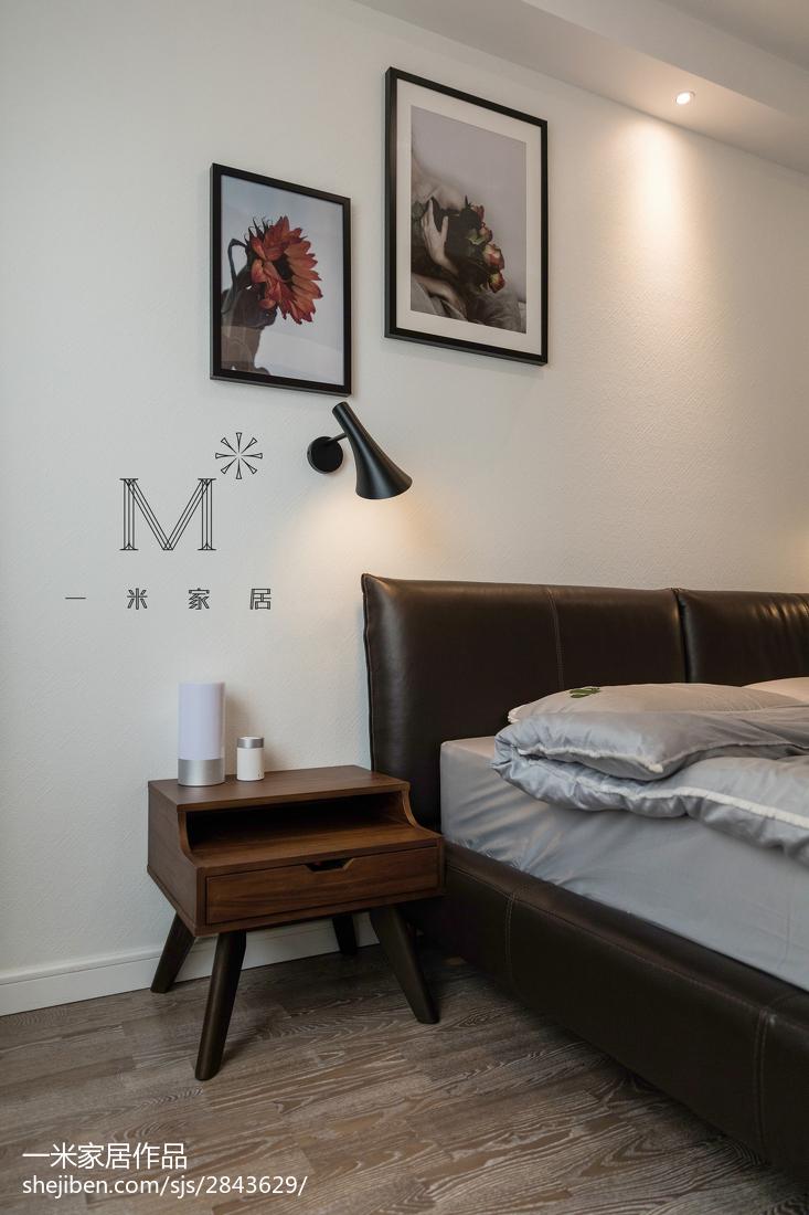热门95平方三居卧室现代设计效果图
