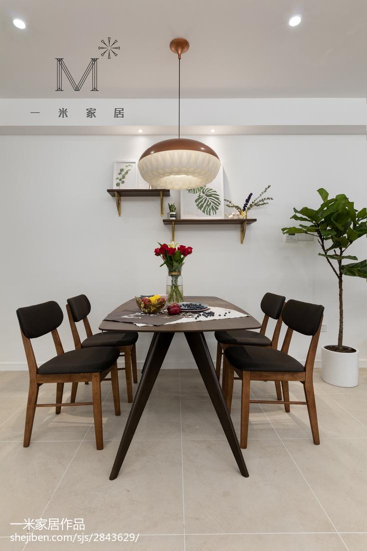 201892平方三居餐厅现代实景图