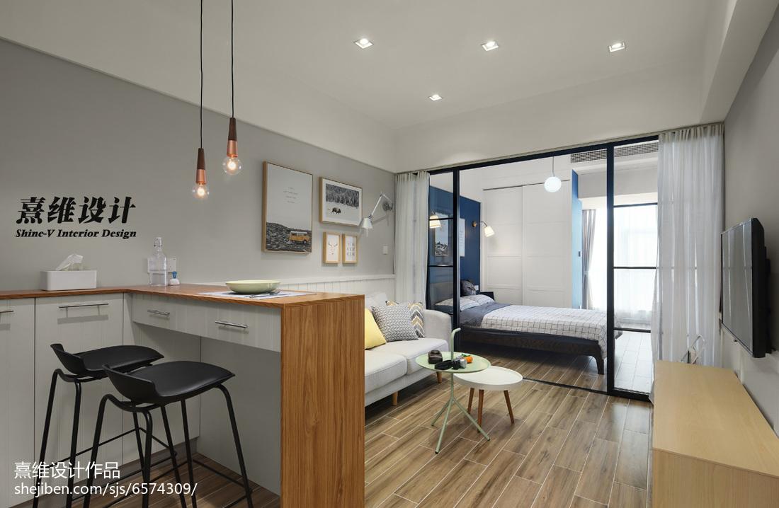 小户型卧室北欧装修设计效果图片大全