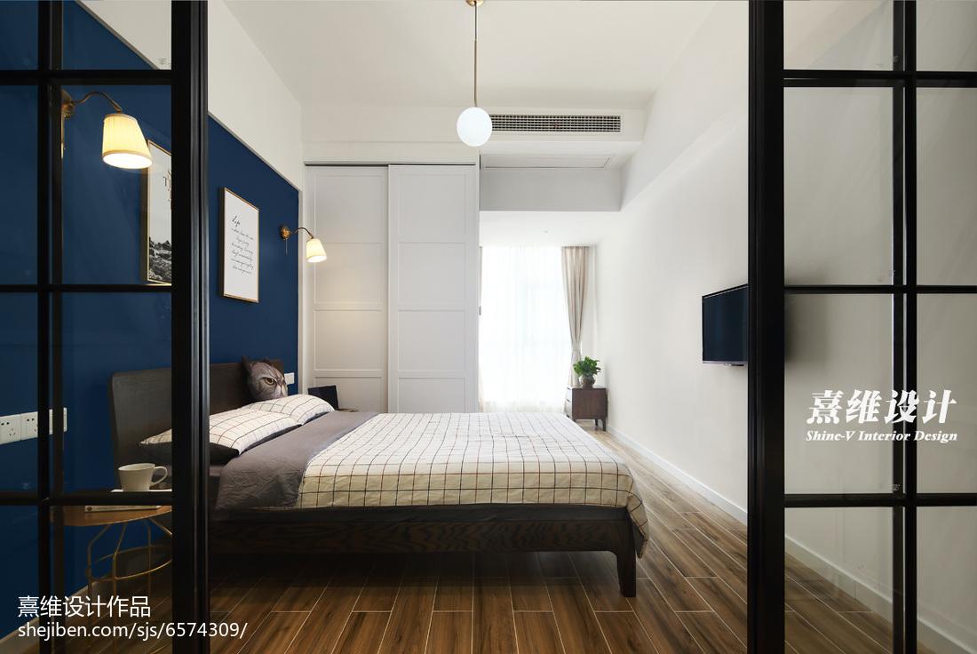 89平米北欧小户型卧室装修欣赏图