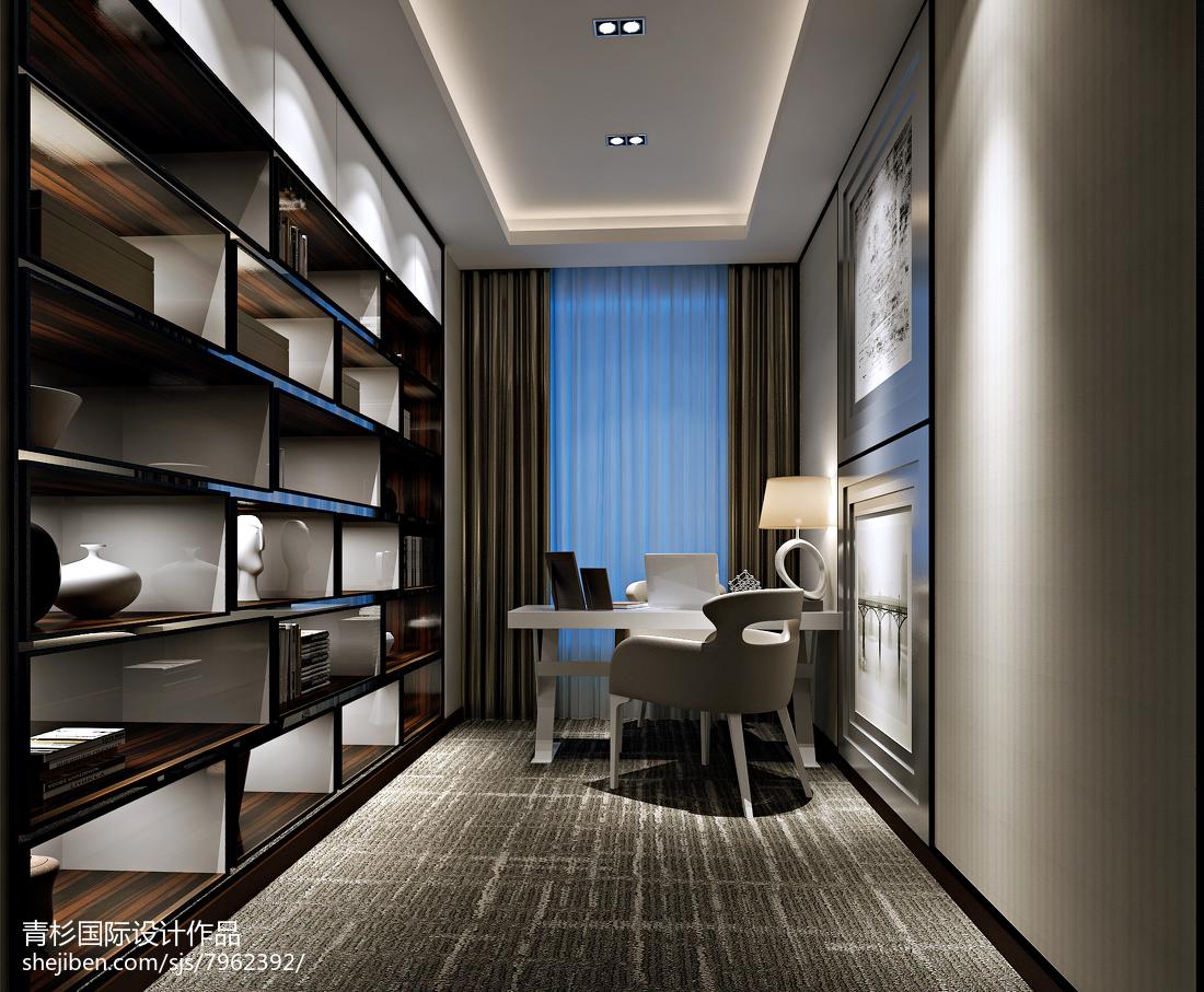 现代美式沙发背景墙 效果图