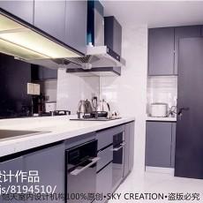 现代二居厨房实景图片大全