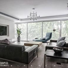 现代简约大宅客厅设计图片