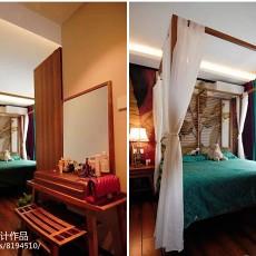 精选二居卧室东南亚装修实景图片