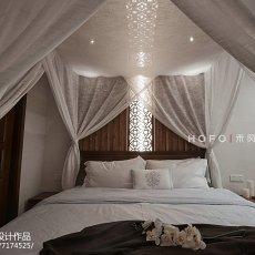 精选130平米东南亚复式卧室实景图片