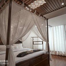 精美面积113平复式卧室东南亚实景图片大全