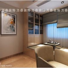 精美面积80平简约二居书房装修设计效果图片大全