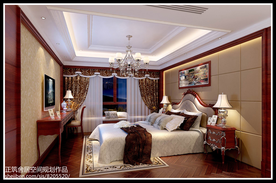现代时尚沙发背景墙设计