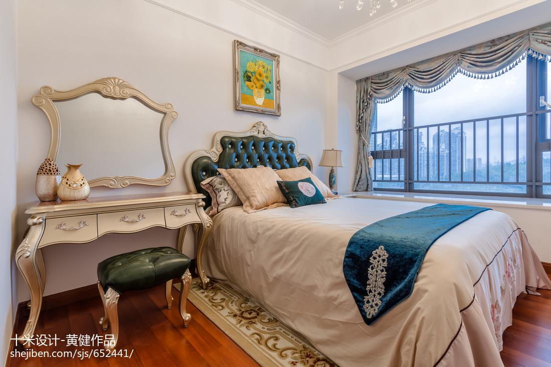 质朴294平欧式样板间卧室装修设计图
