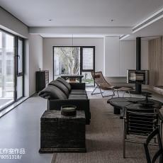 精美面积111平别墅客厅现代装修效果图片欣赏