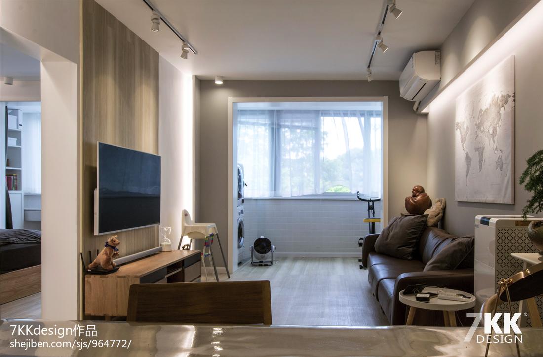 浪漫52平日式二居客厅装修图片