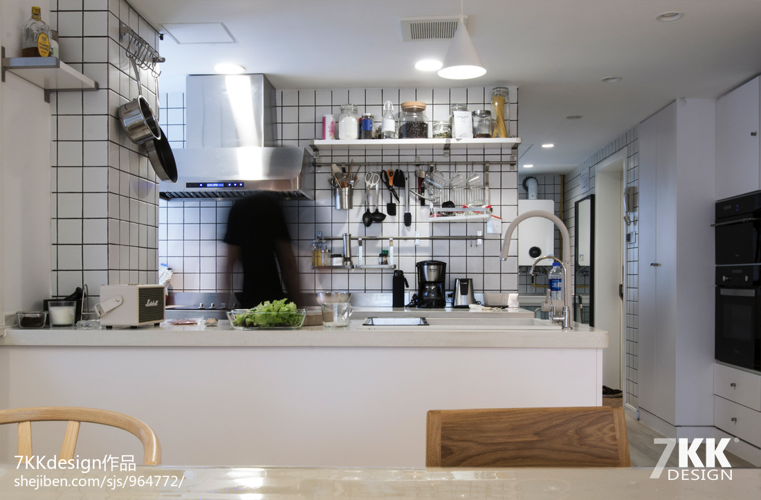 优美54平日式二居厨房效果图