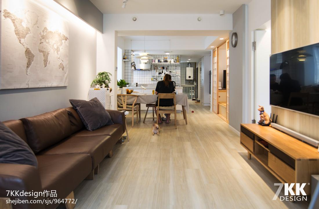 悠雅62平日式二居客厅图片欣赏