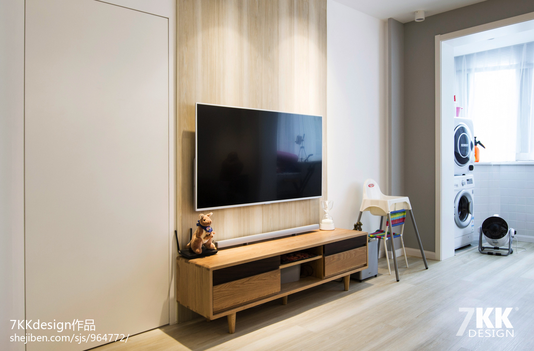 优美77平日式二居客厅效果图片大全