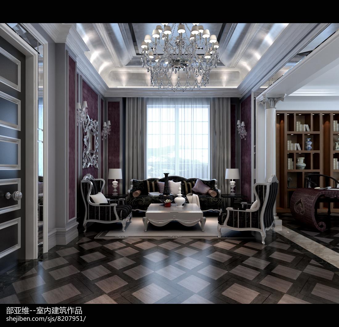 现代家装客厅装修设计