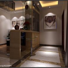 热门面积92平现代三居玄关装修欣赏图片大全