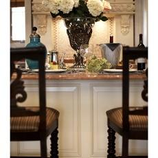 2018面积122平别墅餐厅欧式装修实景图片欣赏