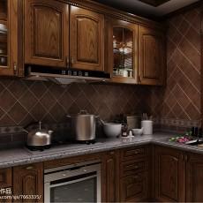 热门136平米欧式别墅厨房装修效果图