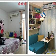 201889平米现代小户型卧室装修图片大全