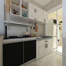 面积81平小户型厨房现代装修设计效果图片