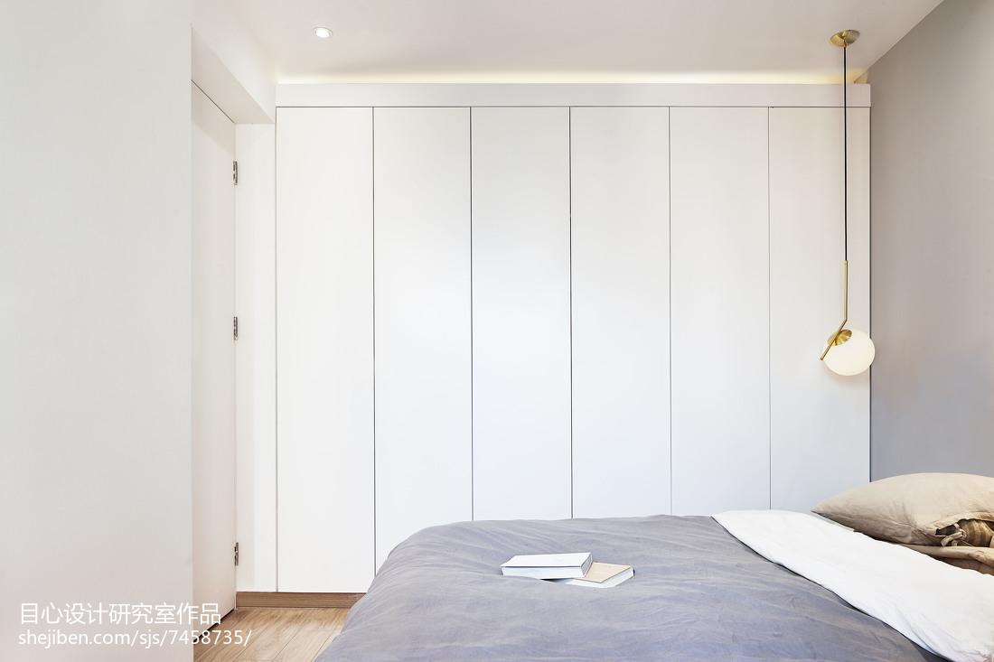 悠雅29平现代小户型卧室效果图片大全