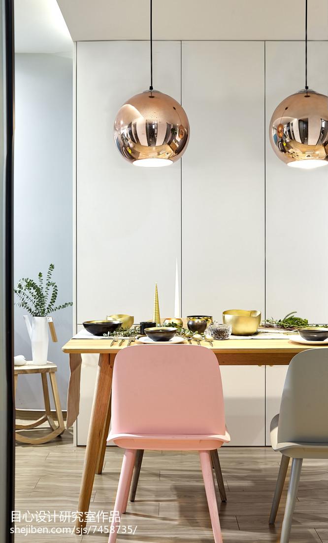 温馨32平现代小户型餐厅装修效果图