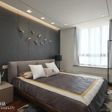 2018面积128平复式卧室现代装修设计效果图片大全