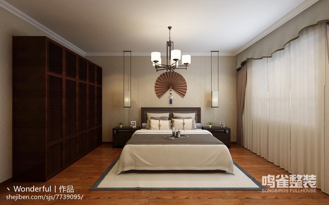 宜家卧室装修图设计