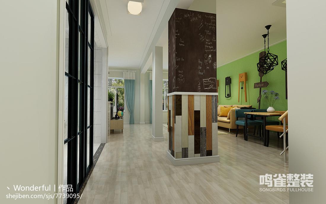 欧式家装卫浴设计装修图