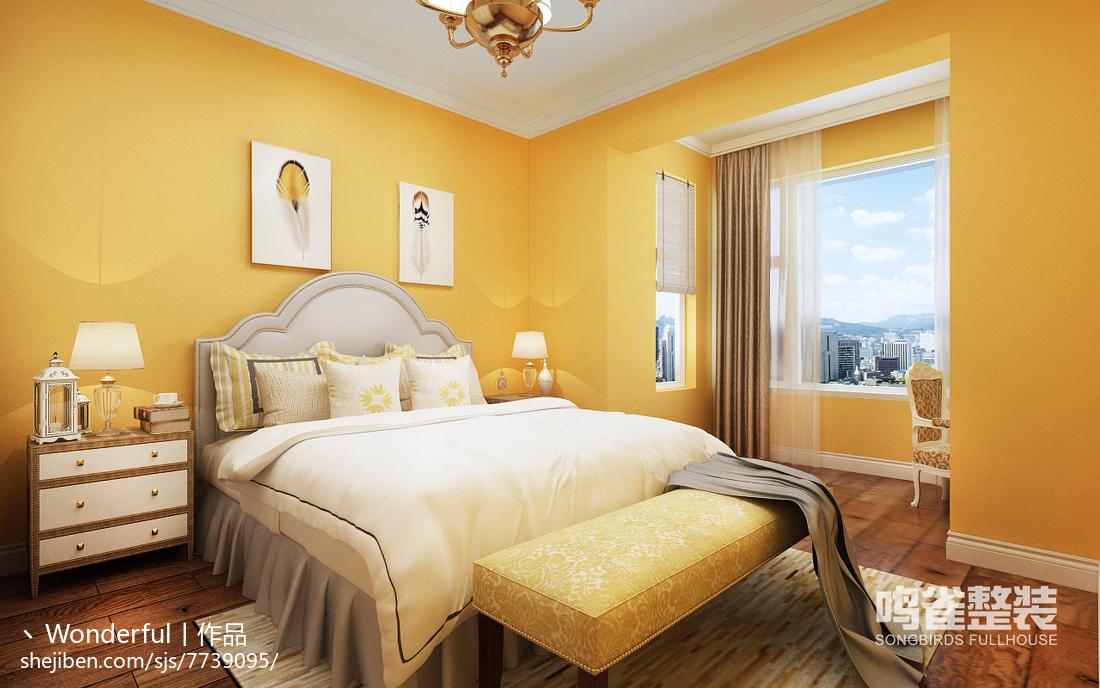 美式田园风卧室设计