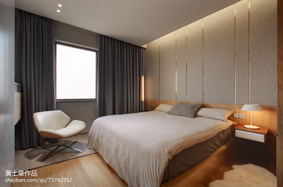 热门81平米二居卧室现代装修欣赏图